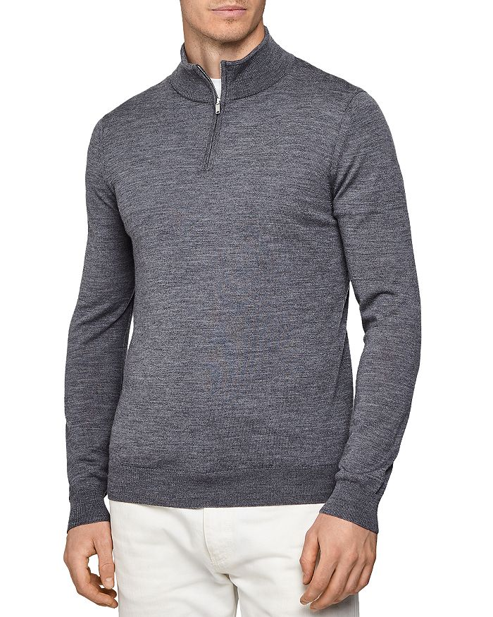 REISS - Blackhall Wool Funnel Neck Sweater