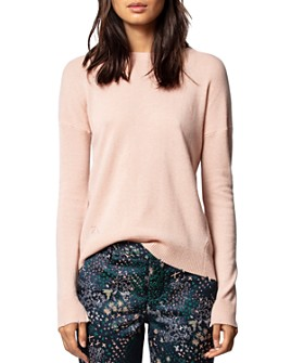 Zadig & Voltaire - Cici Star-Patch Cashmere Sweater