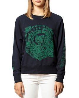 Zadig & Voltaire - Embroidered Skeleton Sweatshirt