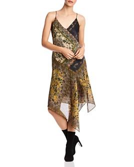 Bailey 44 - Eleanora Asymmetric Paisley Slip Dress