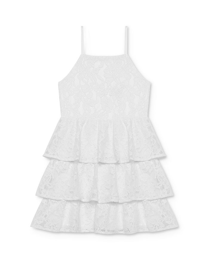 Bardot Junior - Girls' Cartia Tiered-Ruffle Lace Dress - Baby