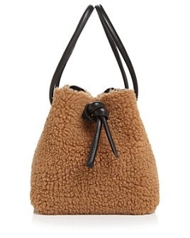 VASIC - Bond Mini Faux Fur Bucket Bag