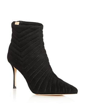 MARION PARKE - Women's Quilted High-Heel Booties