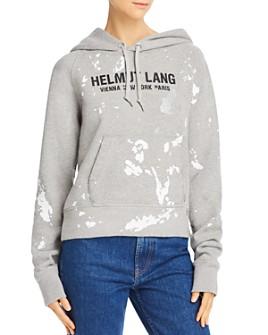 Helmut Lang - Slim Pain Splatter Hoodie
