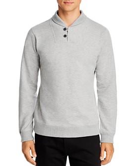Billy Reid - Ribbon Shawl Regular Fit Sweater