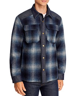 A.P.C. - Mark Plaid Regular Fit Shirt Jacket