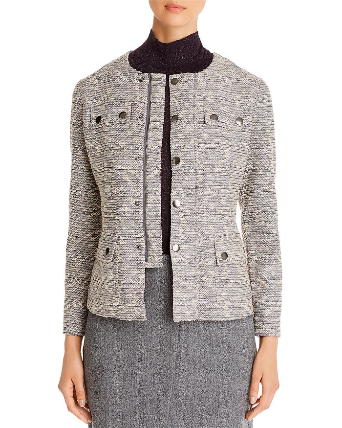 NIC and ZOE - The Ritz Tweed Zip Jacket