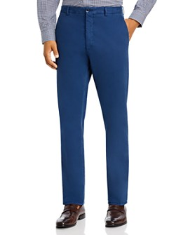 Zanella - Noah Garment-Dyed Brushed Slim Fit Dress Pants
