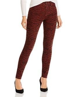 AG - Farrah Printed Skinny Corduroy Jeans