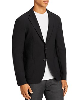 Armani - Textured Regular Fit Soft Jacket