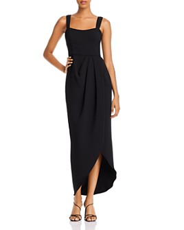 Avery G - Double Strap Tulip Hem Dress