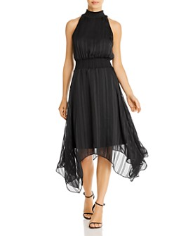 Sam Edelman - Striped Handkerchief Midi Dress