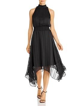 Sam Edelman - Striped Handkerchief Midi Dress