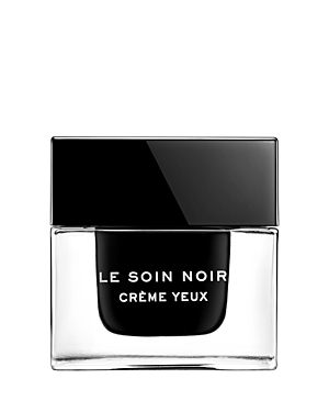 What It Is: A fascinating, deep black color where light is born: an exceptional eye cream formulated with the extraordinary survival gift of Le Soin Noir Algae. What It Does: Glistening with iridescent reflections, the luxurious black skincare softly melts into skin to provide nourishment. Signs of tiredness appear to diminish, wrinkles and crows\\\' feet look smoothed. Day after day, eyes look brightened and skin\\\'s elasticity, tonicity and youthful glow visibly return. Key Ingredients: Researchers