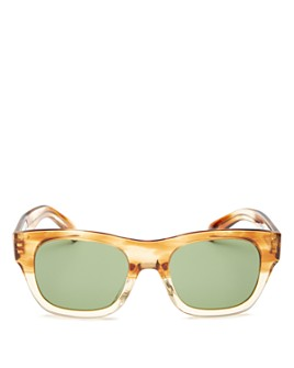 Oliver Peoples - Unisex Keenan Square Sunglasses, 51mm