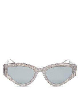Dior - Women's Embellished Cat Eye Sunglasses, 52mm