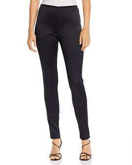 Theory - Skinny Zip-Hem Leggings