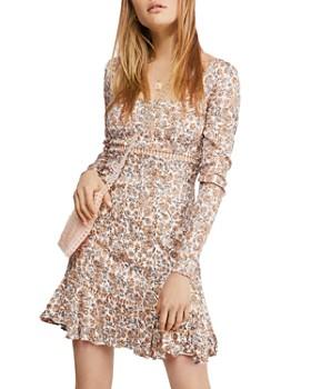 Free People - Boheme Floral Mini Dress