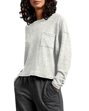 Michael Stars Delilah Waffle-Knit Top