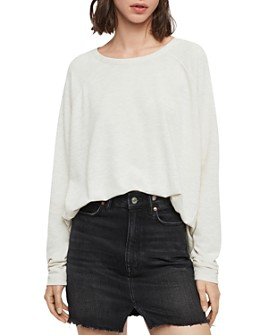 ALLSAINTS - Milly Brushed High/Low Tee