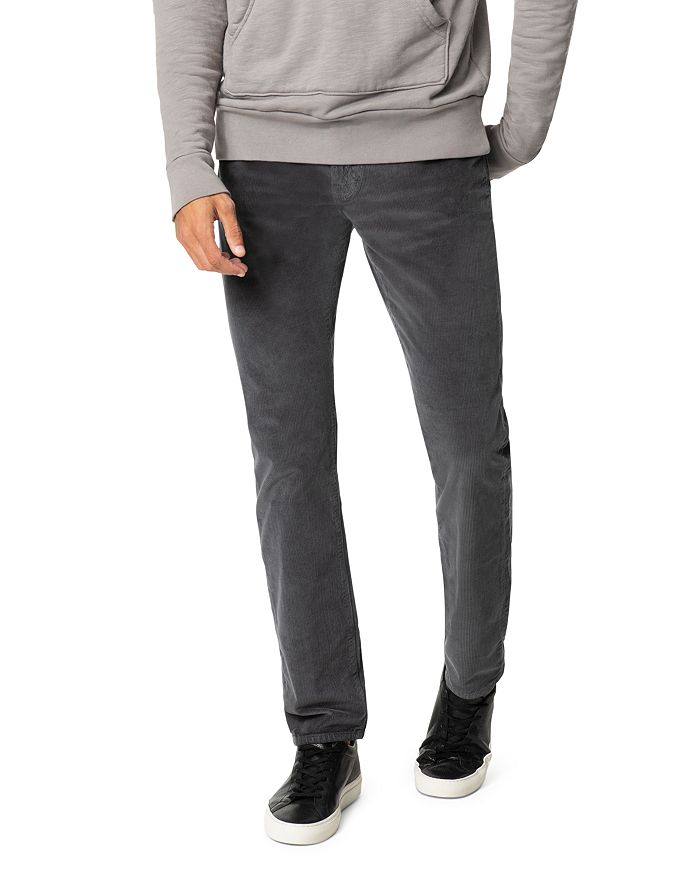 enjoy cheap price new appearance multiple colors The Brixton Slim Straight Corduroy Pants in Asphalt
