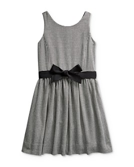 Ralph Lauren - Girls' Houndstooth Print Dress - Big Kid
