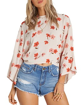 Billabong - Knot Yours Tie-Back Cropped Top