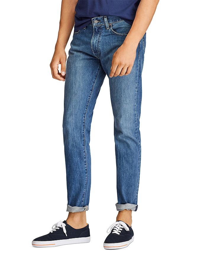 Polo Ralph Lauren - Varick Slim Straight Jeans in Medium Blue