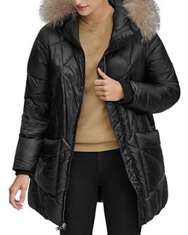 Andrew Marc - McKenna Fur-Trim Puffer Coat