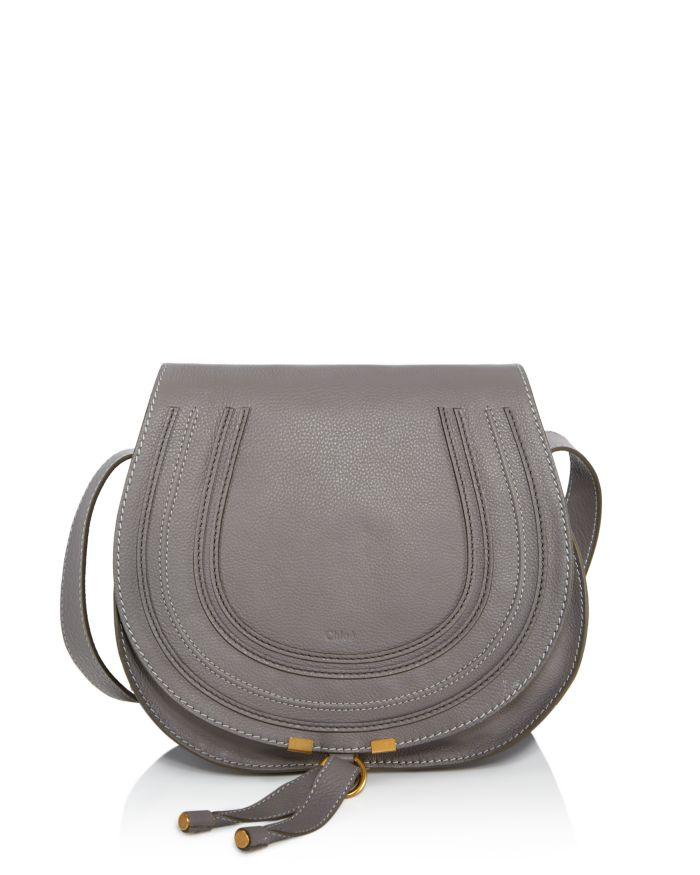 Chloé Marcie Medium Leather Crossbody    Bloomingdale's