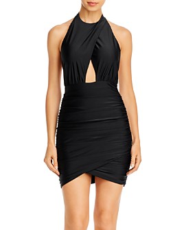 Tiger Mist - Not Your Girl Halter Dress - 100% Exclusive