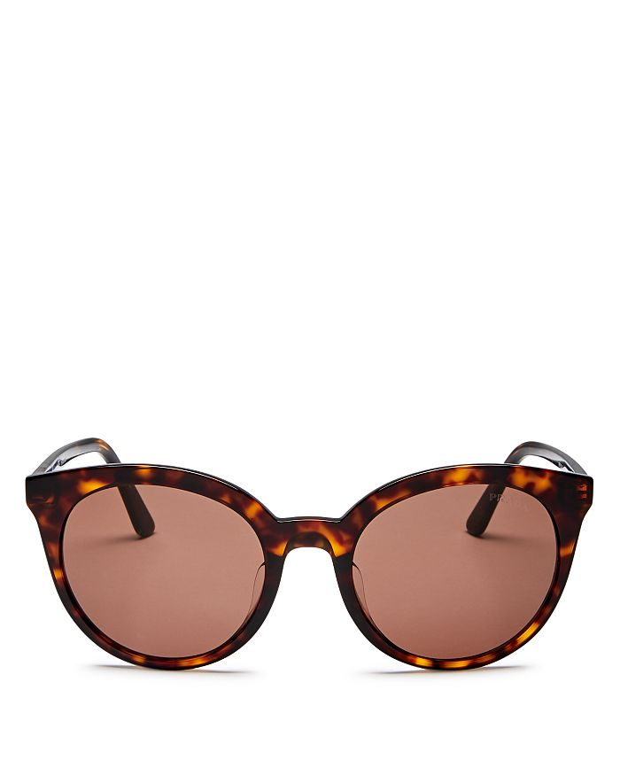 Prada - Women's Round Sunglasses, 53mm
