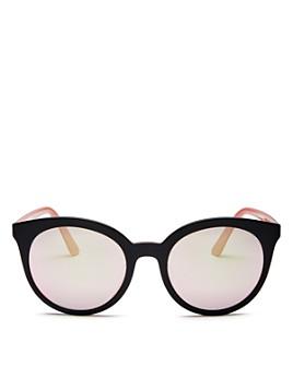 Prada - Women's Round Sunglasses, 53mm