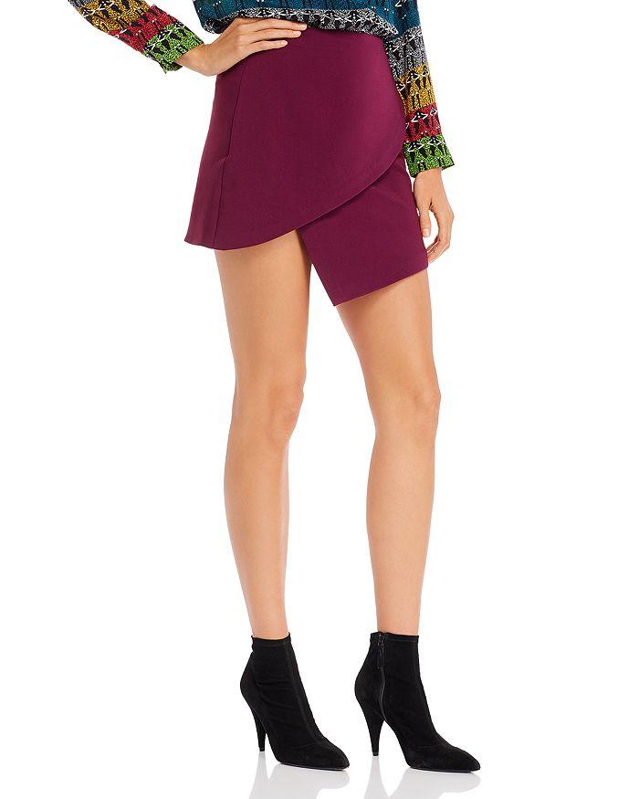 Alice and Olivia - Dasia Asymmetric Mini Skirt