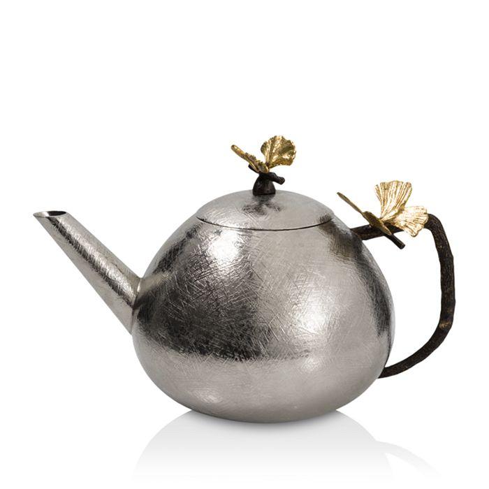 Michael Aram - Butterfly Ginkgo Round Teapot
