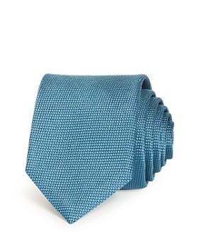 HUGO - Solid Woven Silk Skinny Tie