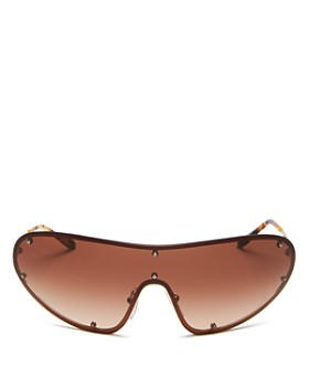 Prada - Unisexs Shield Sunglasses, 170mm