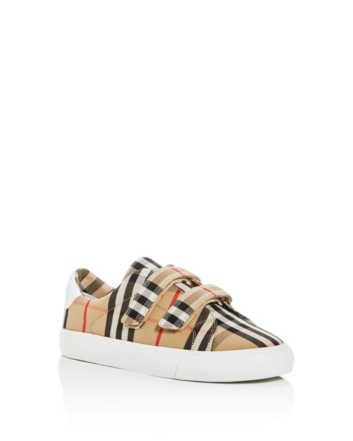 Burberry Unisex Markham Vintage Check Low-Top Sneakers - Toddler, Little Kid  | Bloomingdale's