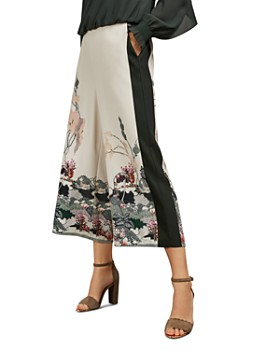 Ted Baker - Karllaa Willow Print Culottes