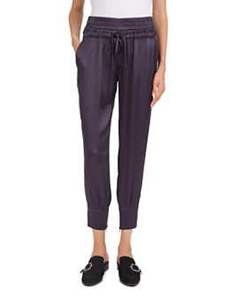 The Kooples - Cropped Zip-Hem Jogger Pants
