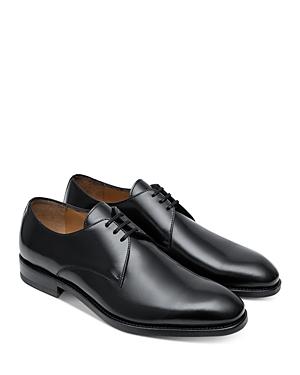 Paul Stuart Men's Hancock Leather Lace-Up Oxfords In Black