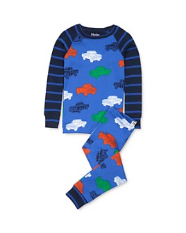 Hatley - Boys' Pickup Truck Tee & Pickup Truck Pants Pajama Set - Little Kid, Big Kid