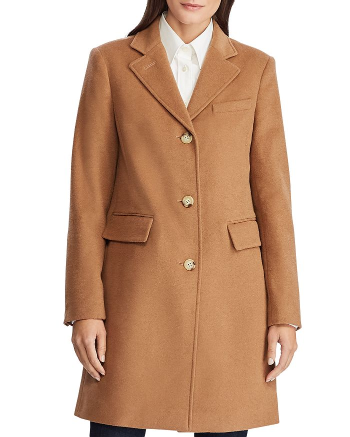 Ralph Lauren - Wool-Blend Reefer Coat