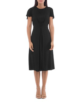 B Collection by Bobeau - Carmen Inverted-Pleat Dress