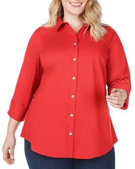 Foxcroft Plus - Marianne Non-Iron Seamed Shirt