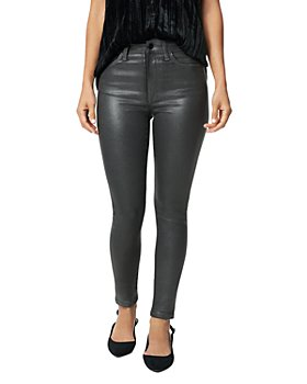 Joe's Jeans - The Charlie Skinny Ankle Jeans in Gunmetal Coated