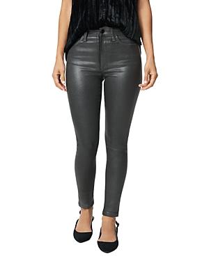 Joe\\\'s Jeans The Charlie Skinny Ankle Jeans in Gunmetal Coated-Women
