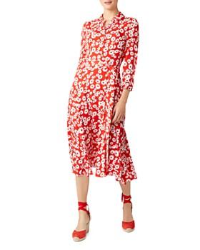HOBBS LONDON - Frederica Floral Shirt Dress