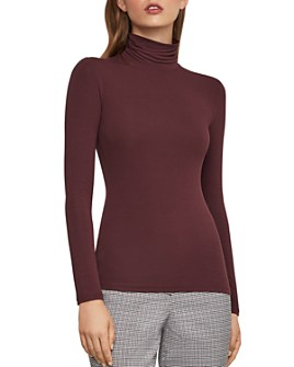 BCBGMAXAZRIA - Jersey Turtleneck Top