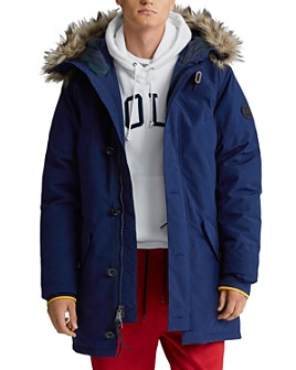 Polo Ralph Lauren - Faux-Fur-Trim Down Parka